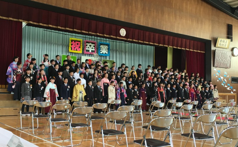 『一寸千貫』岩沼小学校卒業式、校長先生の式辞